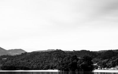lac chambon noir blanc