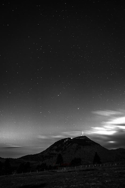Puy de dome nuit