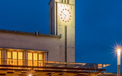 Gare de Clermontferrand à l'heure bleue. | © www.franckmaillet.com