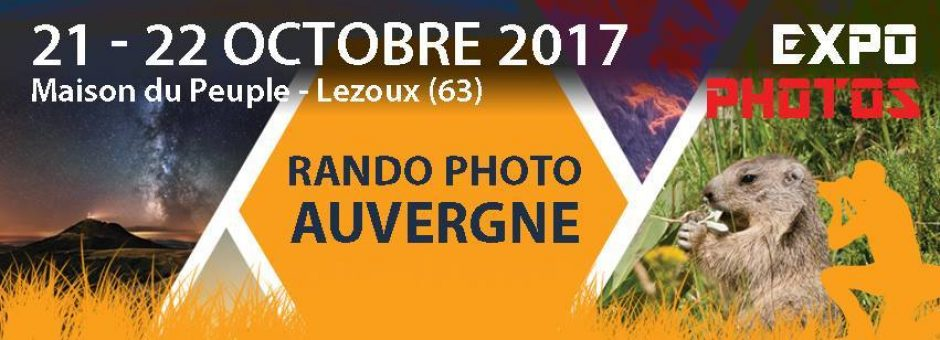 Expo rando photo auvergne 2017